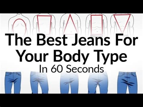Best Jeans For Body Type?  What Denim Fits A Man Best