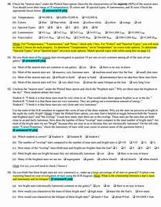 Solved  Summary The Hertzsprung