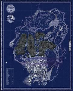 GTA V vs GTA IV Map