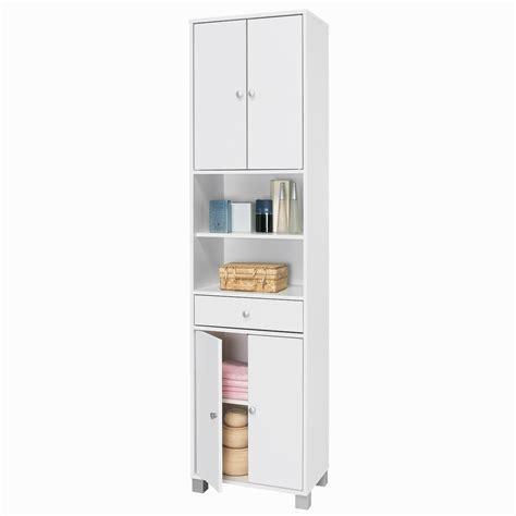 colonne cuisine 50 cm largeur colonne 4 portes 1 tiroir 2 niches 50 5 x haut 196 5cm blanc chambly