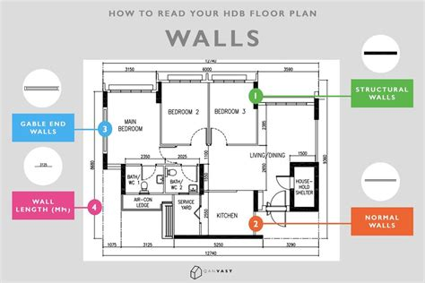 read  hdb floor plan   seconds qanvast