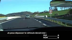 Code De La Route Question : nouvelle question vid o du code de la route 2017 d passement youtube ~ Medecine-chirurgie-esthetiques.com Avis de Voitures
