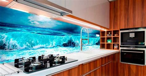 backsplash panel   solution  kitchen