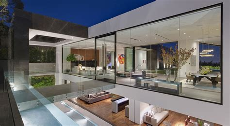 glass house design two story glass house interior design ideas