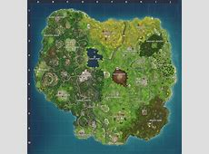 Map Changes in Season 4 Fortnite Wiki Guide IGN