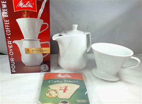 If using a manual drip coffee maker, this can be achieved by letting your kettle rest 30 seconds after coming to a boil and then pouring the water over the coffee grounds. 640476, Melitta 6 Cup Pour-Over Coffee Brewer, Porcelain Brewing Cone and Carafe - Walmart.com ...