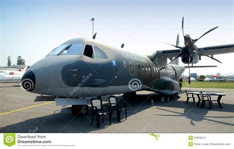 Casa C 295M - Twin- Turboprop - Editorial Stock Photo ...