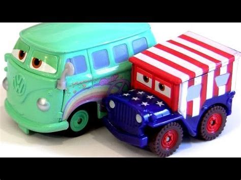 cars sarge and fillmore stars and stripes sarge with holiday fillmore mini