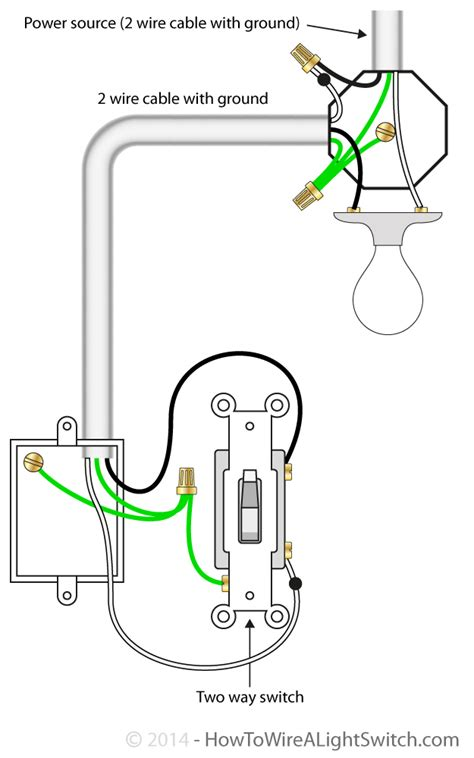 how do you wire a light switch power feed via light how to wire a light switch