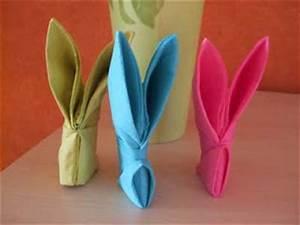 Pliage Serviette Lapin Simple : la maison des filles ~ Melissatoandfro.com Idées de Décoration