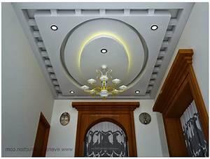 Pop Ceiling Kerala House Hall Home bo
