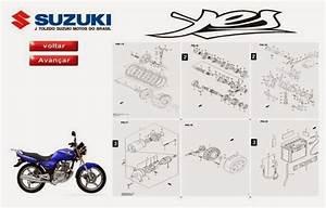 Manuais T U00c9cnicos  Manual Pe U00c7as Suzuki Yes 125