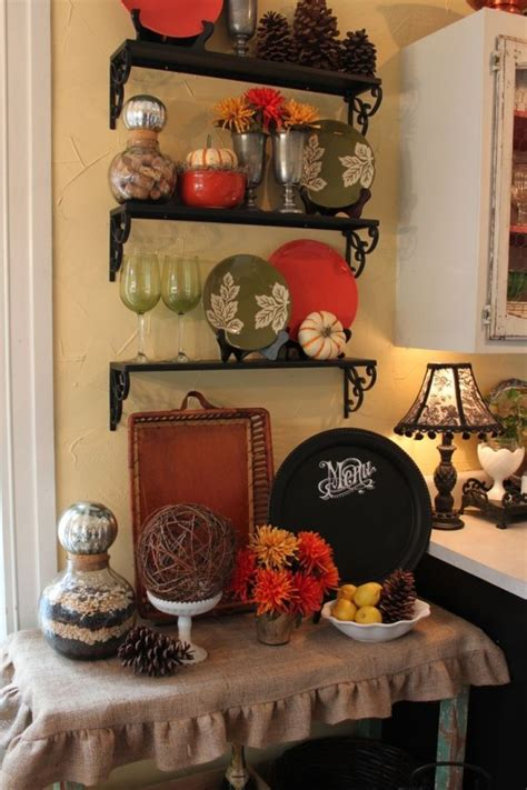 Decorated Kitchen Ideas by 68 Cool Fall Kitchen D 233 Cor Ideas Digsdigs