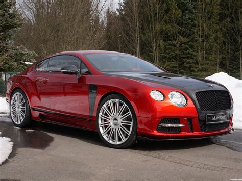 Fotos De Bentley Mansory Continental Gt Sanguis 2013