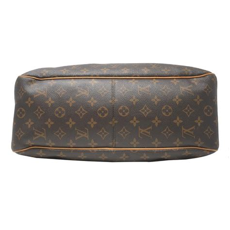 louis vuitton delightful mm monogram brown canvas shoulder bag tradesy