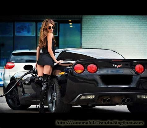 Hot Girl With Hottest Car