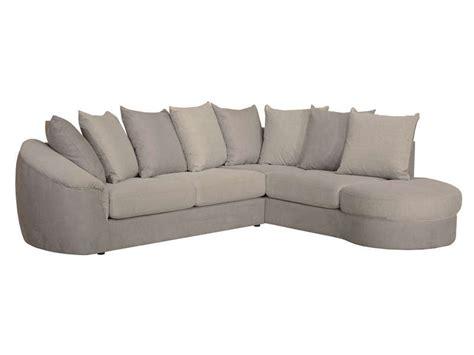 canapé en u conforama canapé d 39 angle fixe droit 5 places en tissu boreal coloris