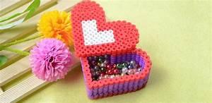 3d Perler Bead Pattern-How to Make a Perler Bead Red Heart