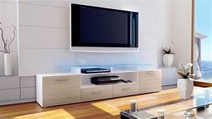 Tv Tisch Hochglanz Weiß : tv lowboard board schrank tisch m bel almada v2 in wei hochglanz naturt ne ebay ~ Bigdaddyawards.com Haus und Dekorationen