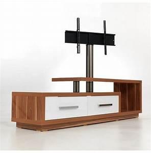 Mobilier Bois Design : support tv bois mobilier design d coration d 39 int rieur ~ Melissatoandfro.com Idées de Décoration