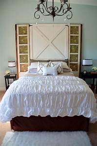 barn door headboard master bedroom reveal home stories With barn doors for headboard