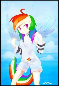 human rainbow dash remake by Affanita on DeviantArt