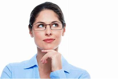 Thinking Person Woman Transparent Pluspng