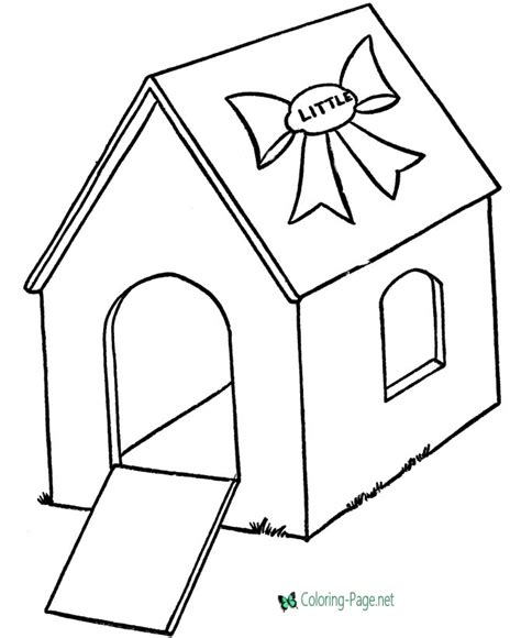 Coloring House by House Coloring Pages Houses