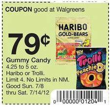 walgreens cheap haribo  trolli candy