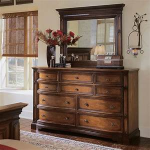 Brentwood, 10, Drawer, Dresser, -, Two-tone, Cherry, Brentwood, Brown
