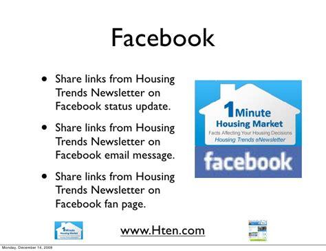 Housing Trends Newsletter by Housing Trends Newsletter Marketing Ideas For Real Estate