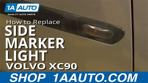 install replace side marker light volvo xc
