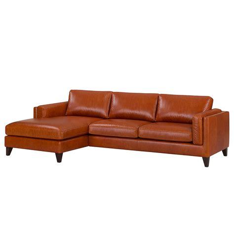 canapé cuir fauve scrapeo canapé d 39 angle cuir brun crozatier