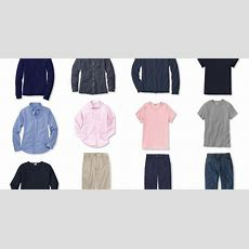 A Common Capsule Wardrobe A Variation Of The Standard, In