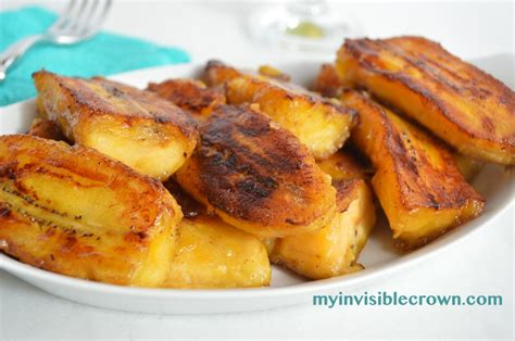 fried plantains sweet plantains in spanish