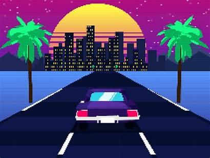 Effects Pixelate Drive Retro Eyedesyn Burton Sam