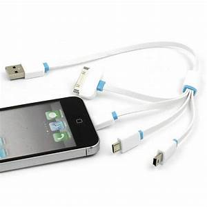 4 In 1 Multi Usb Charger Charging Cable Cord For Cell