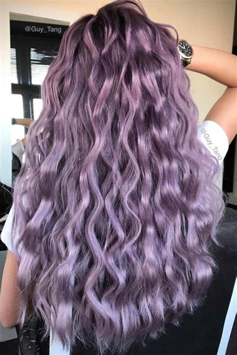 21 Violet Hair Color Ideas To Look Glamorous Violet Hair