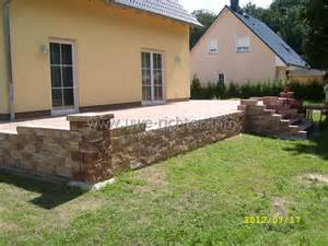 terrasse mit treppe galerie terrassen und wegebau inklusive treppen