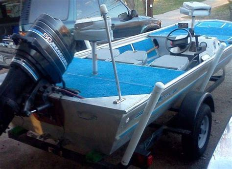 Boat Carpet Waco Tx by 16 Ft Aluminum Fishing Boat For Sale
