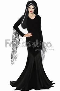 Disfraz para Mujer de Morticia Familia Adams Disfraces Halloween para Mujer Pinterest