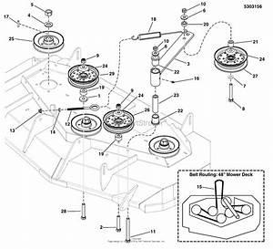 Simplicity 5901230  48 U0026quot  Mower Deck Parts Diagram