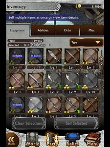 Weapons Final Fantasy Record Keeper Strategy Guide