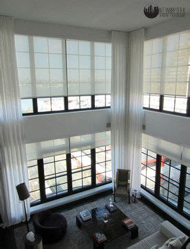 cortinas  persianas em ambientes  pe direito duplo
