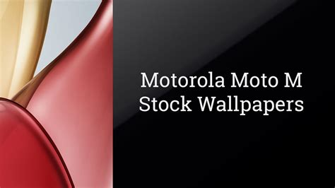 Motorola Moto M Stock Wallpapers Download In Quad Hd