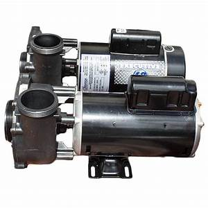 Waterway 2hp 2spd Pump- With Larger Faceplate