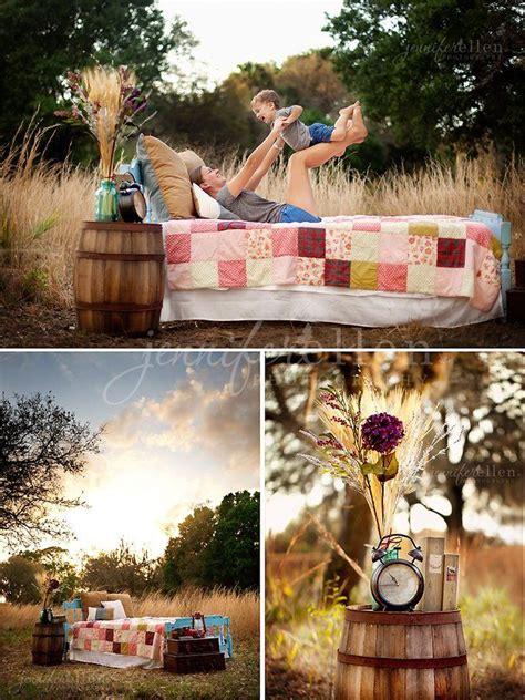 outdoor bed setup love  warmth  color tones