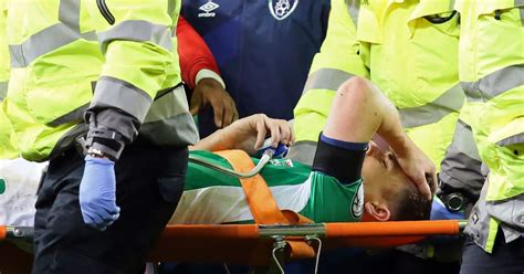 Seamus Coleman Reveals His Instant Reaction to Leg-Break ...