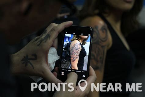 tattoo places   points