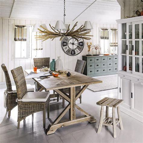 meubles et décoration de style atlantique bord de mer inspiration bord de mer pour sa salle à manger esprit